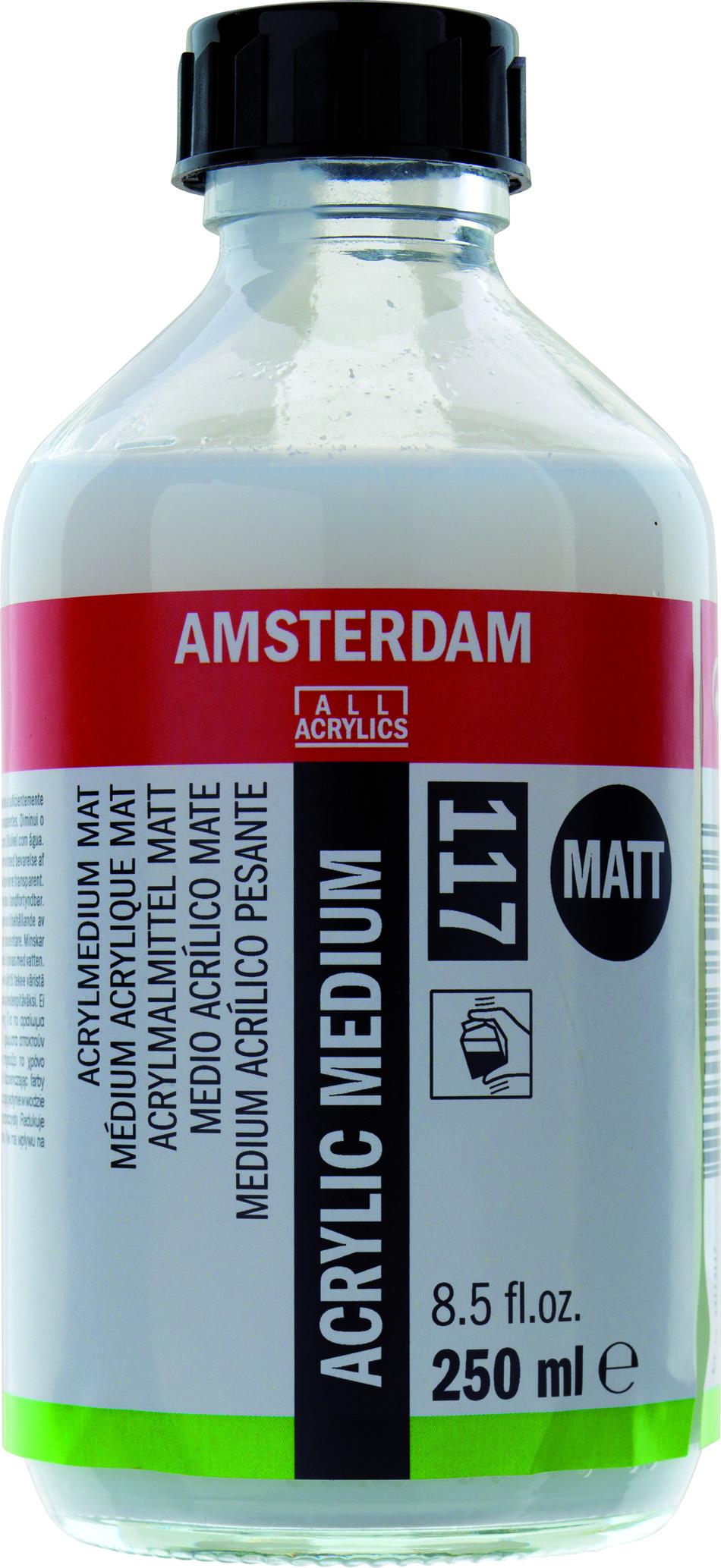 AMSTERDAM ACRYLIC MEDIUM MATT 117 250 ML