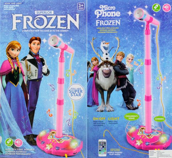 Jual Mik Karaoke Frozen, Mainan mic untuk anak berKaraoke - Jennie ...