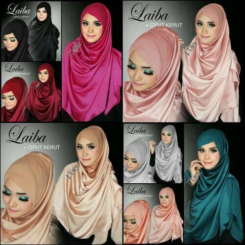 kerudung/ hijab/ flow laiba/ jilbab