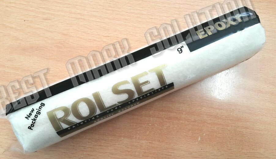 "harga Refill Kuas Roll Rolset Epoxy 9"" Tokopedia.com"