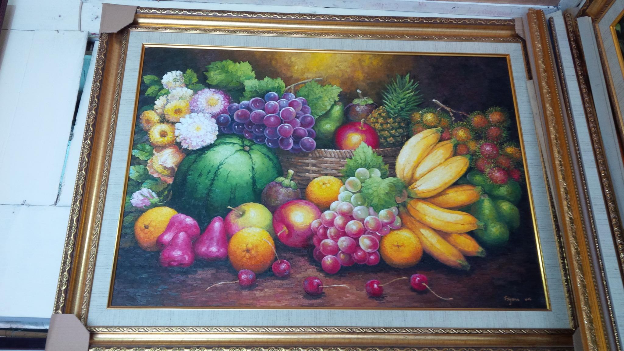 harga lukisan buah karya triyono Tokopedia.com