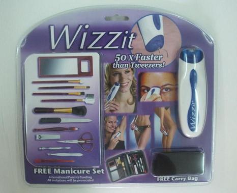 """harga WIZZ IT HAIR REMOVAL """"CUKUR RAMBUT HALUS """" FREE PERLENGKAPAN MANICUR Tokopedia.com"""