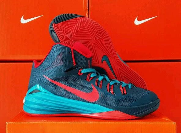 quality design 40ac1 5b6a2 ... sepatu basket nike hyperdunk 2014 deep blue red  daftar harga ...