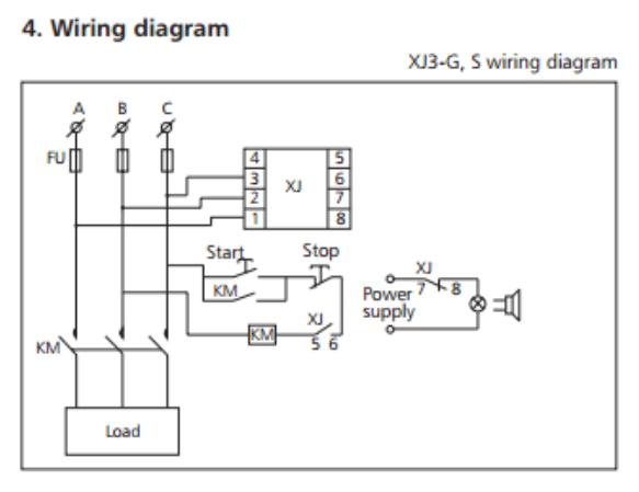 jual phase failure relay chint xj3 s listrik nusantara tokopedia phase failure relay chint xj3 s