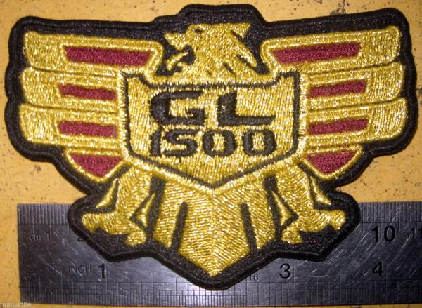 VINTAGE HONDA GOLDWING GL1500 parts patches for sale review