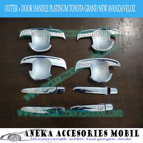Outer dan Door Handle Mobil Toyota Grand New Avanza/Veloz Platinum