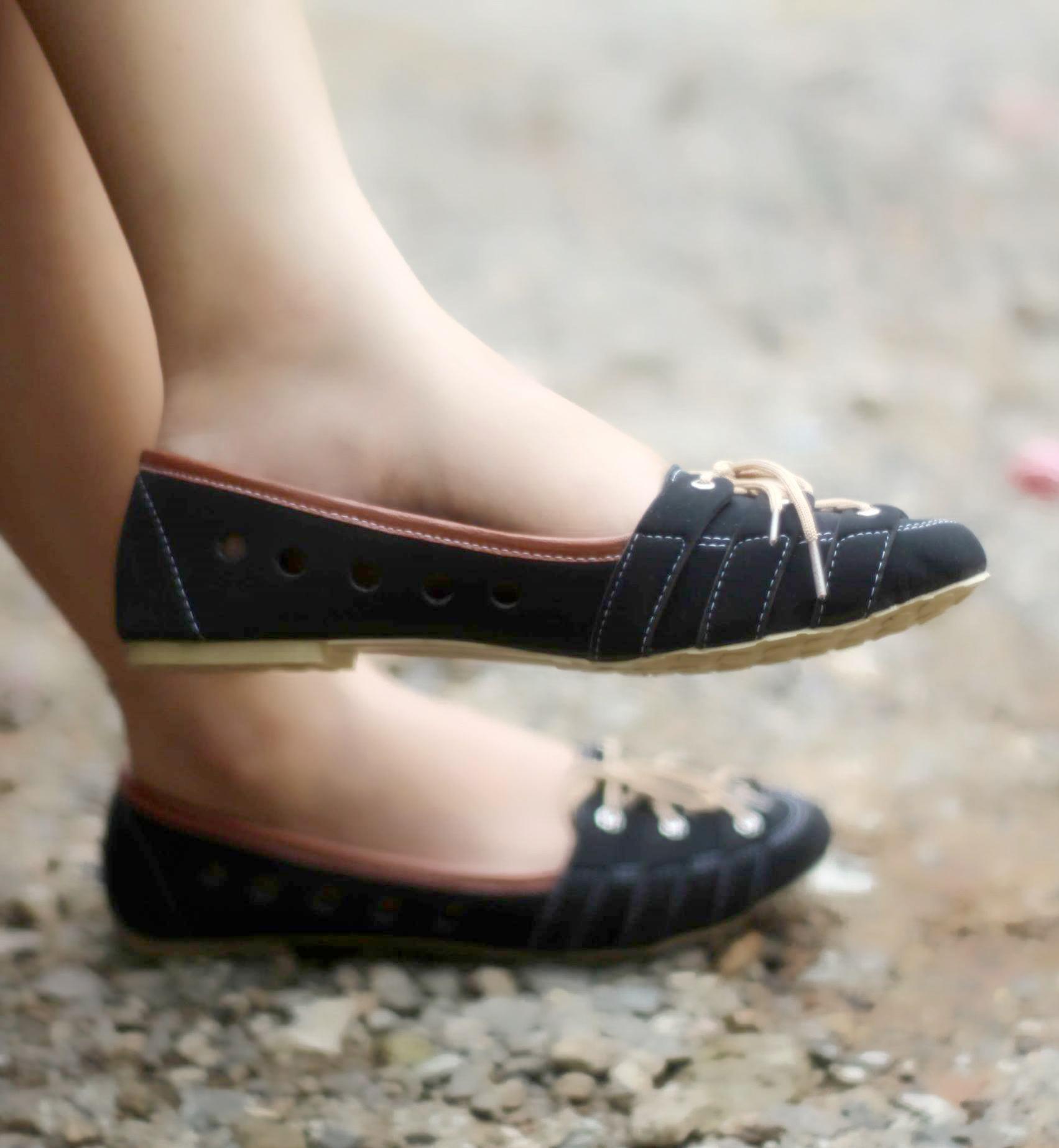 Jual Sepatu Sandal Wanita Flat Shoes Tali   Sendal Cewek ...