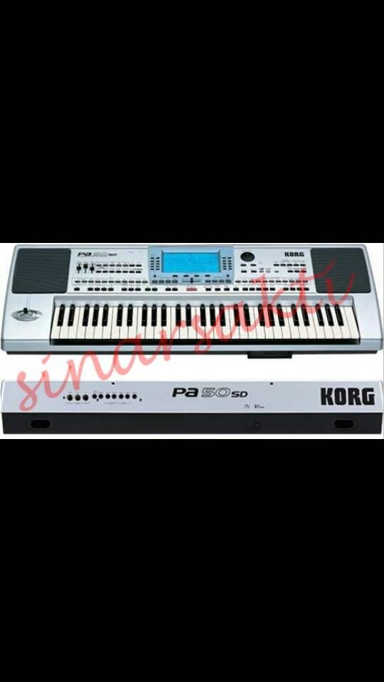 Keyboard KORG PA 50SD ( ORIGINAL )