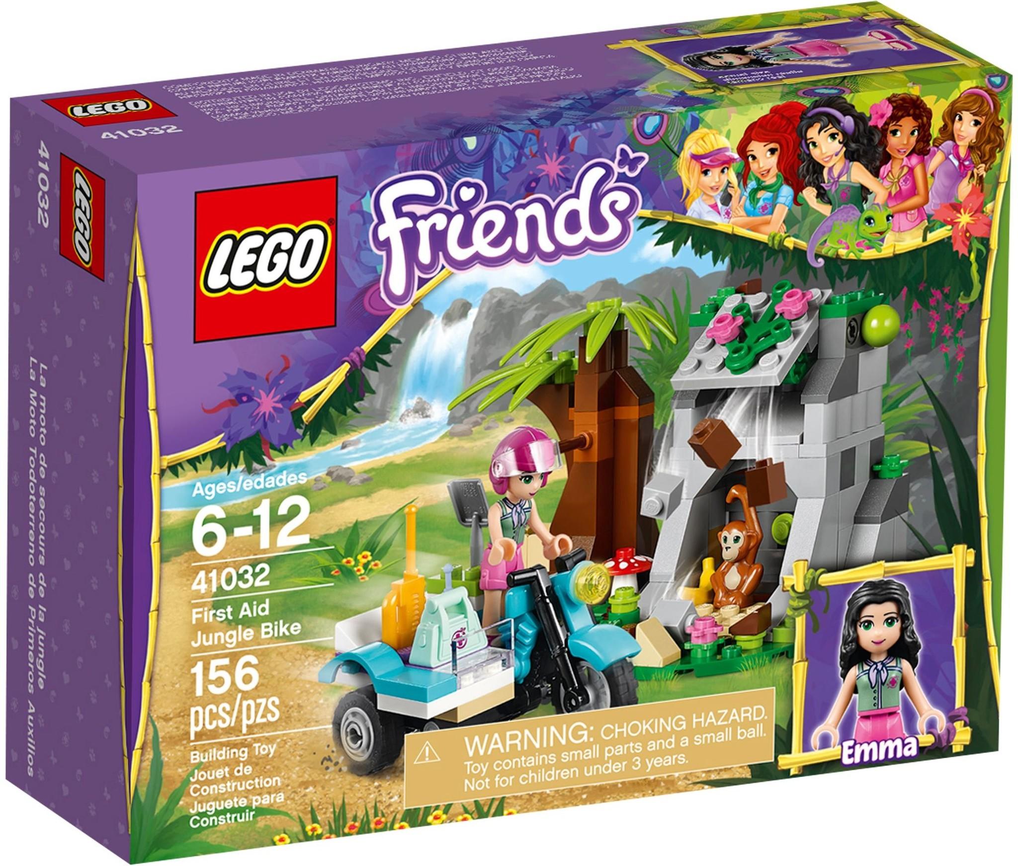 LEGO 41032 - Friends - First Aid Jungle Bike