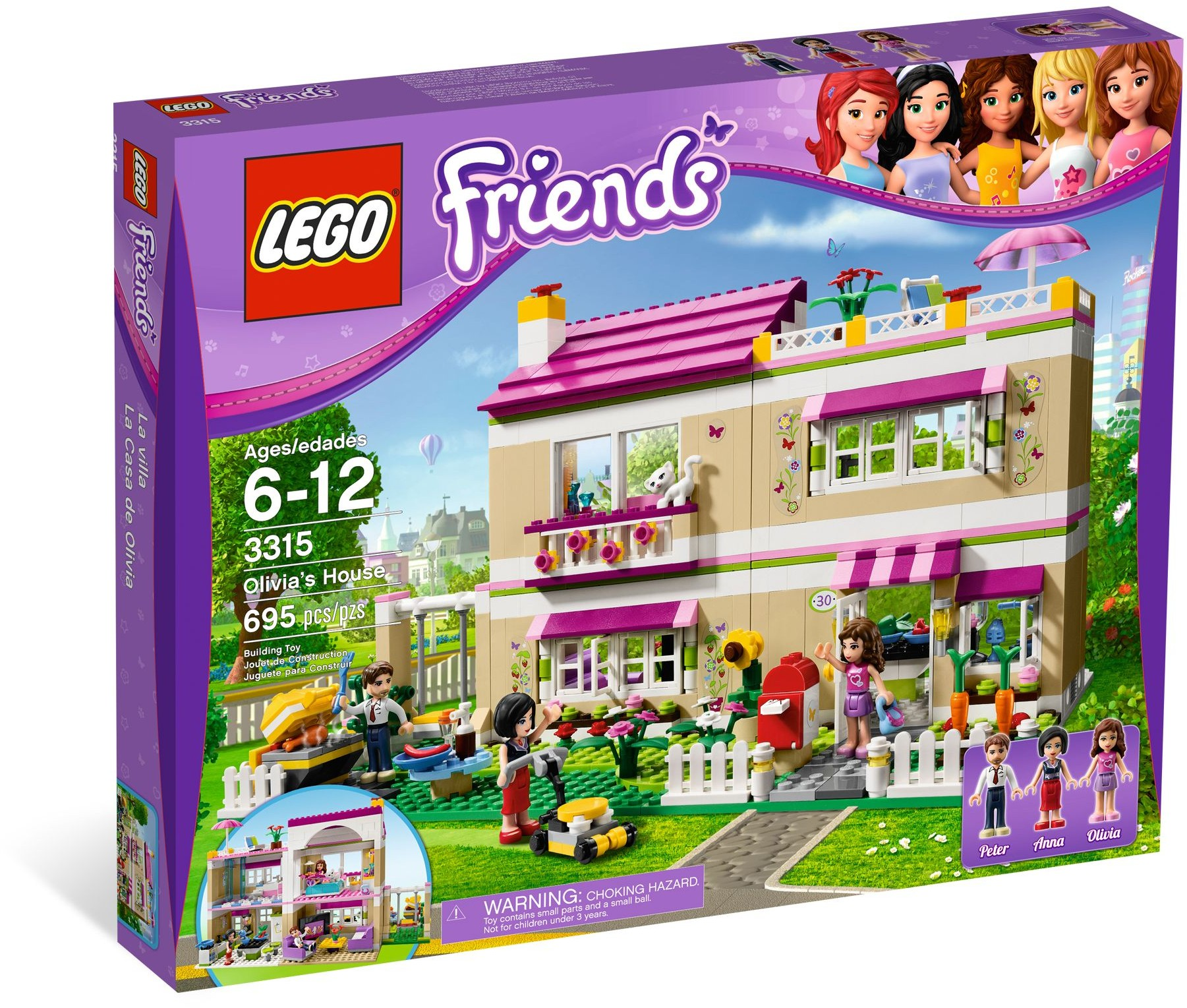 LEGO 3315 - Friends - Olivia's House