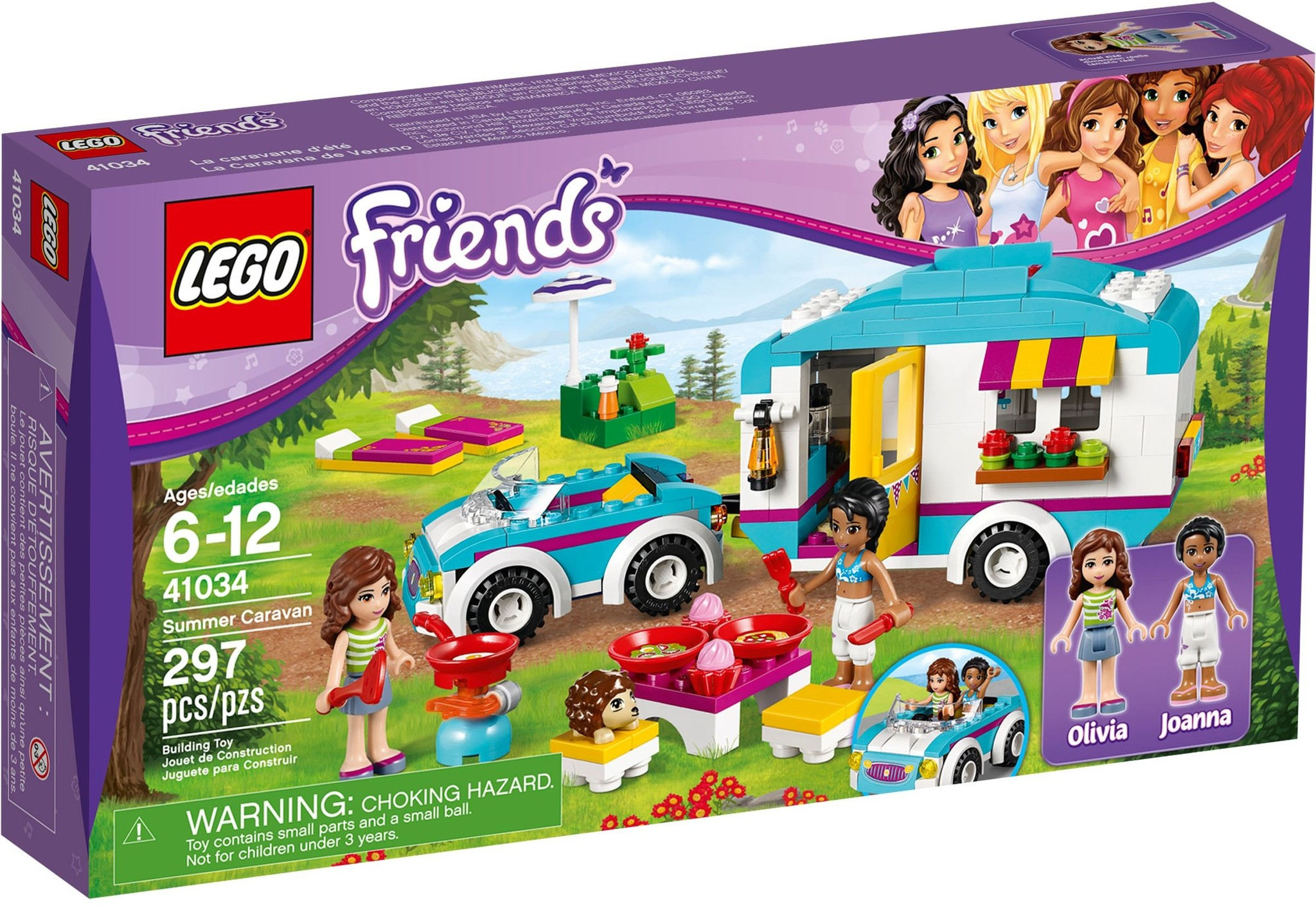 LEGO 41034 - Friends - Summer Caravan