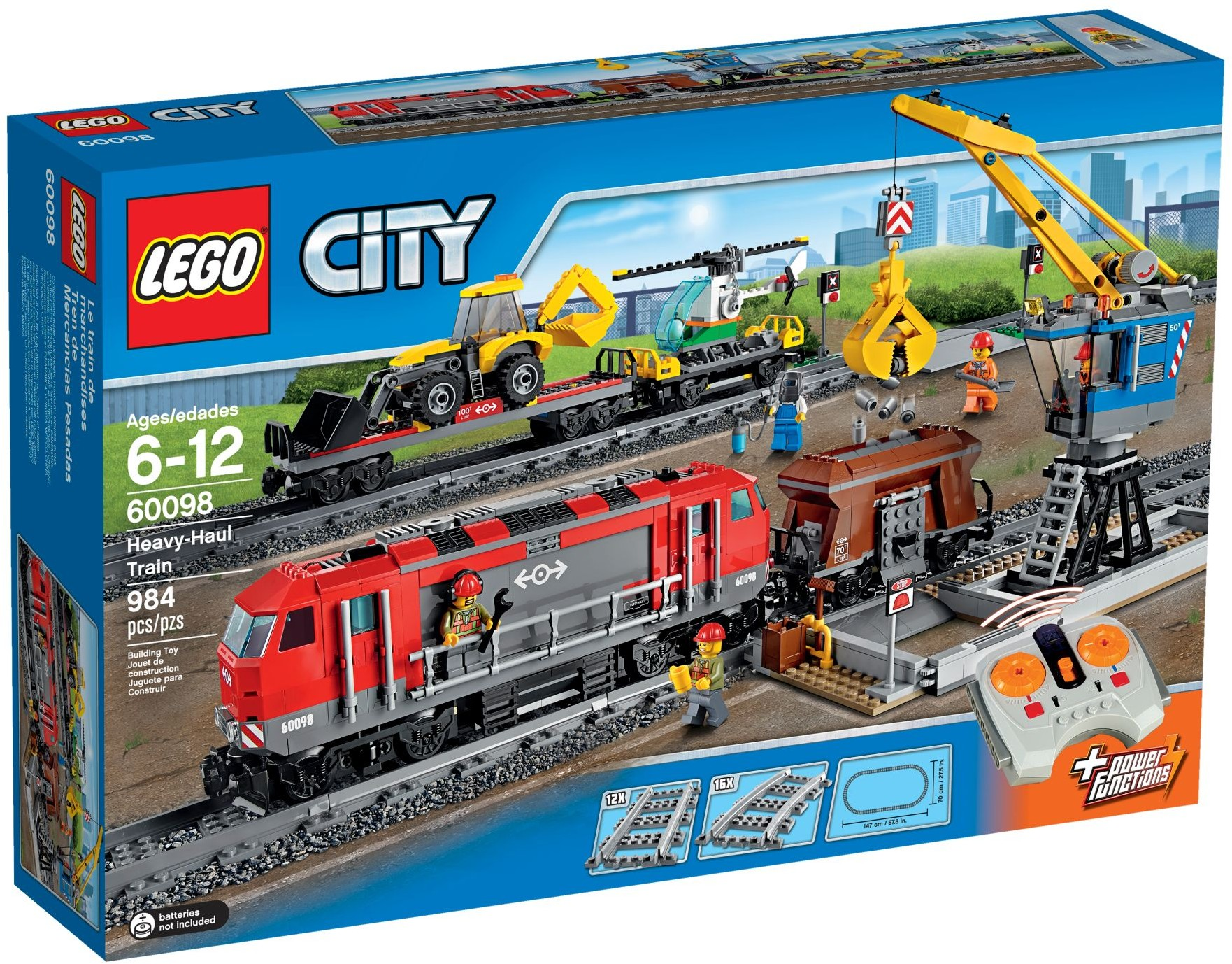 LEGO 60098 - City - Heavy-Haul Train