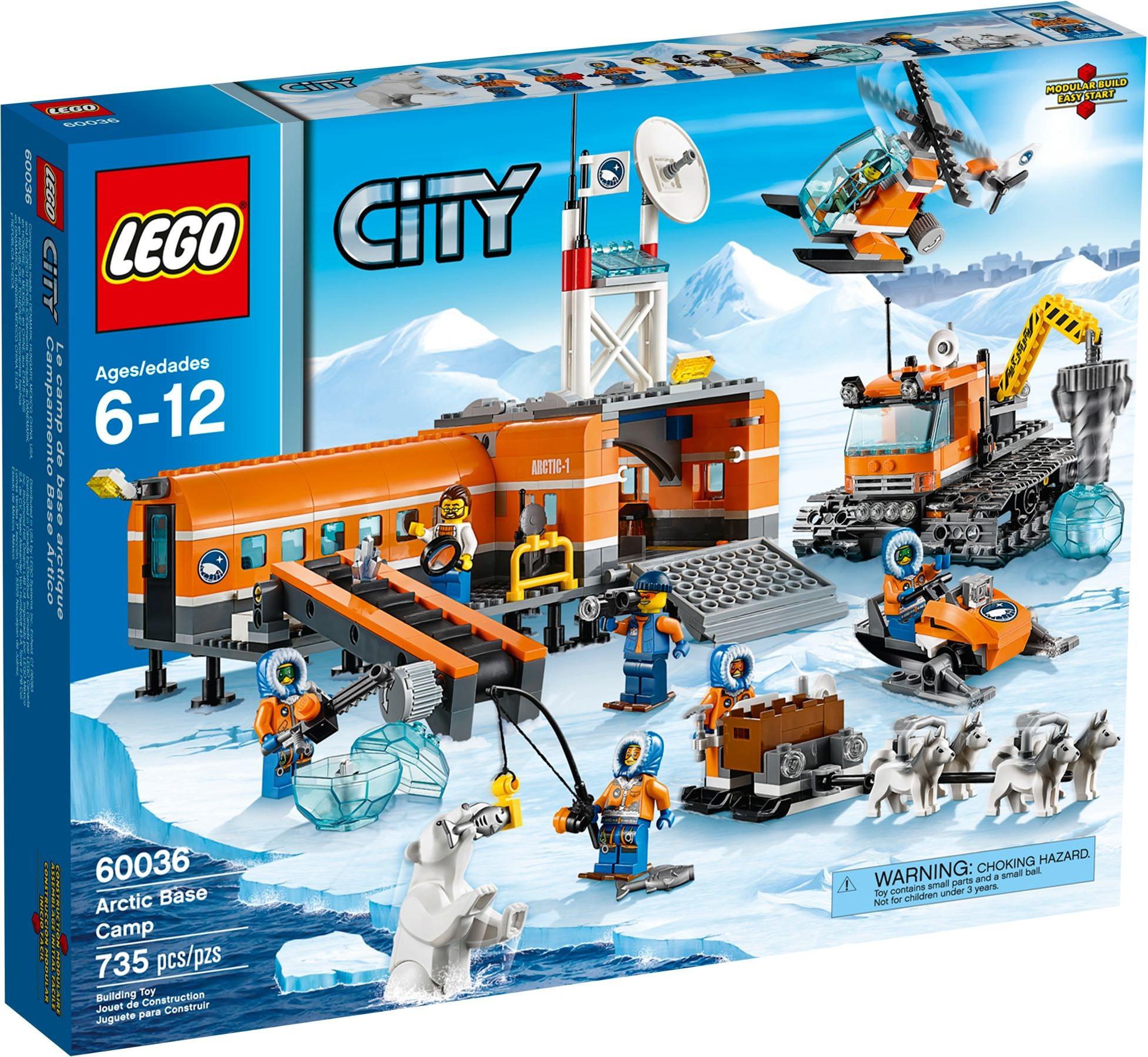 LEGO 60036 - City - Arctic Base Camp