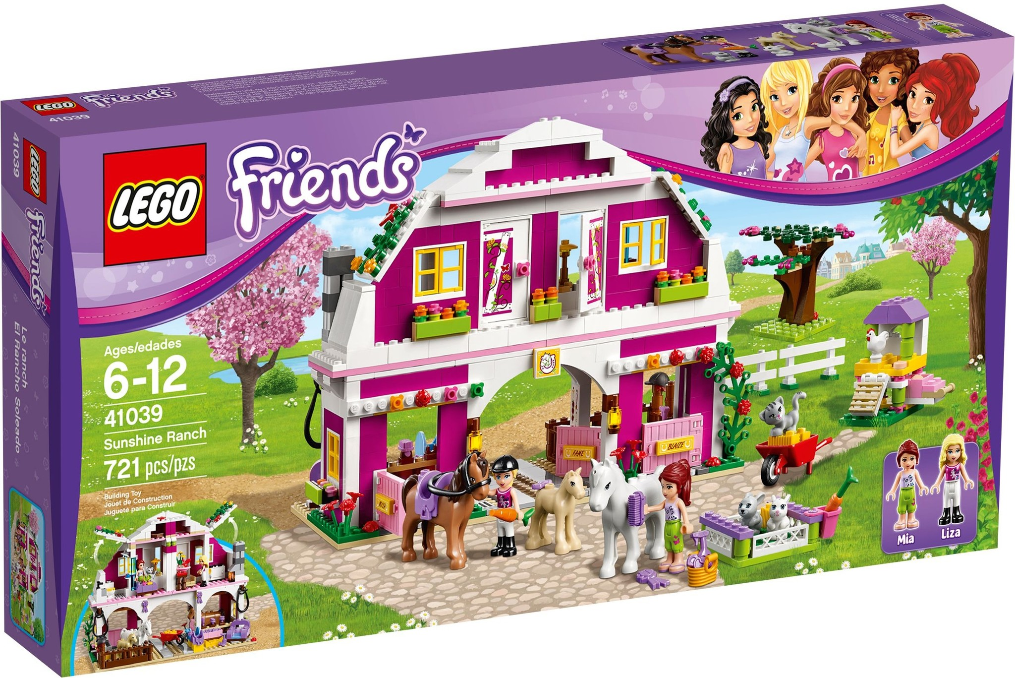 LEGO 41039 - Friends - Sunshine Ranch