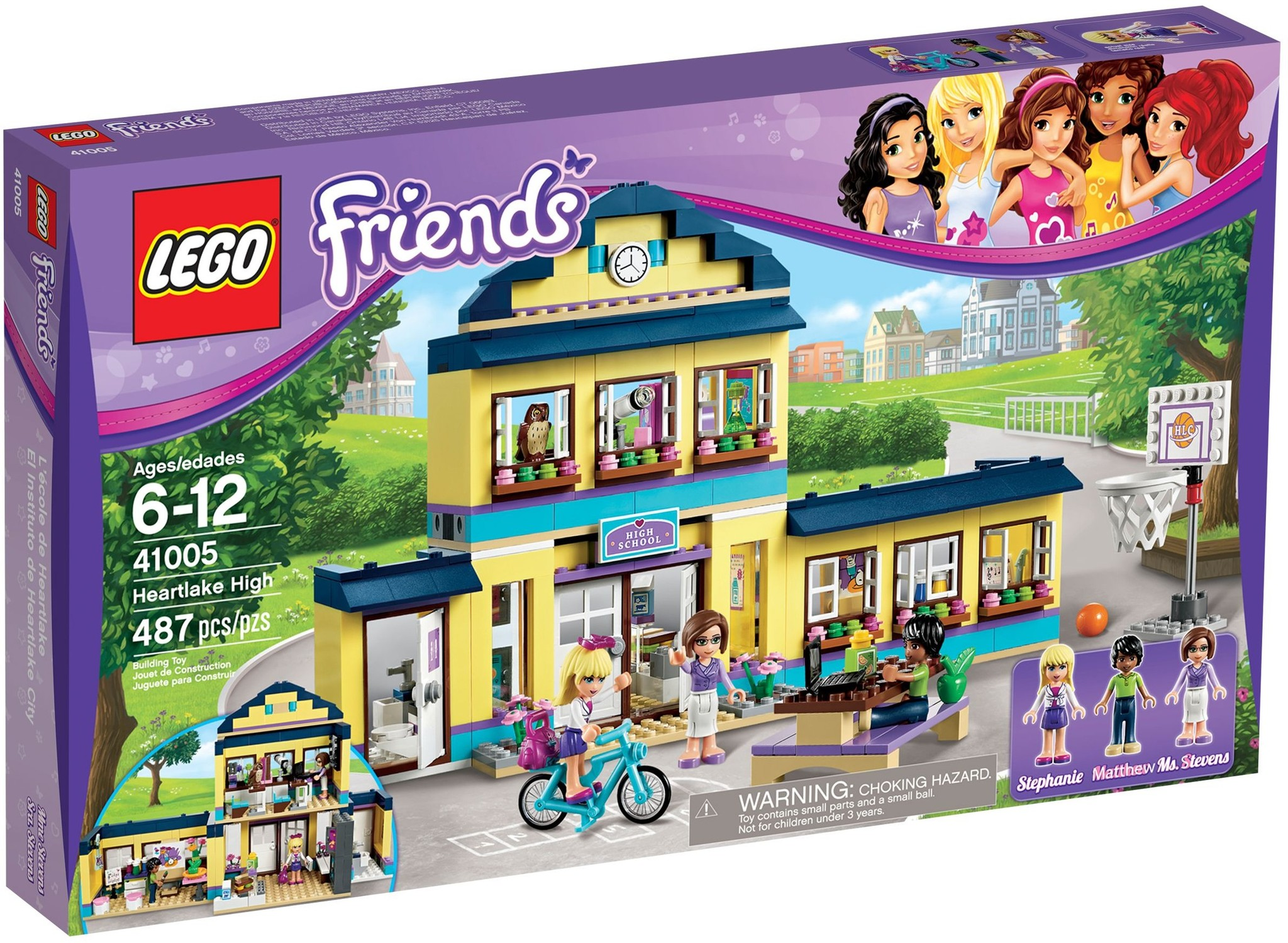 LEGO 41005 - Friends - Heartlake High