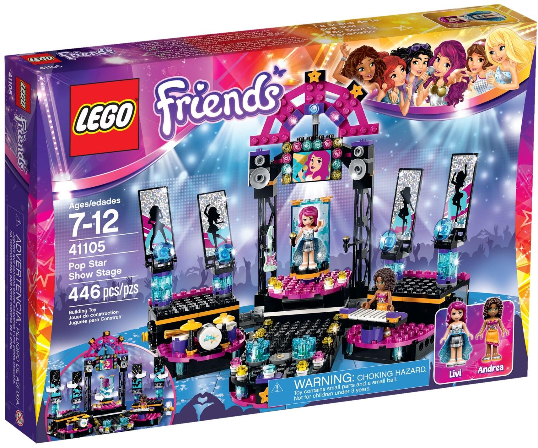 LEGO 41105 - Friends - Pop Star Show Stage