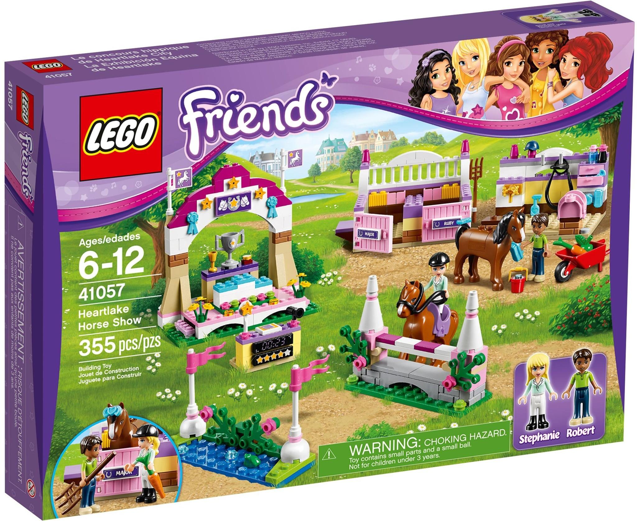 LEGO 41057 - Friends - Heartlake Horse Show