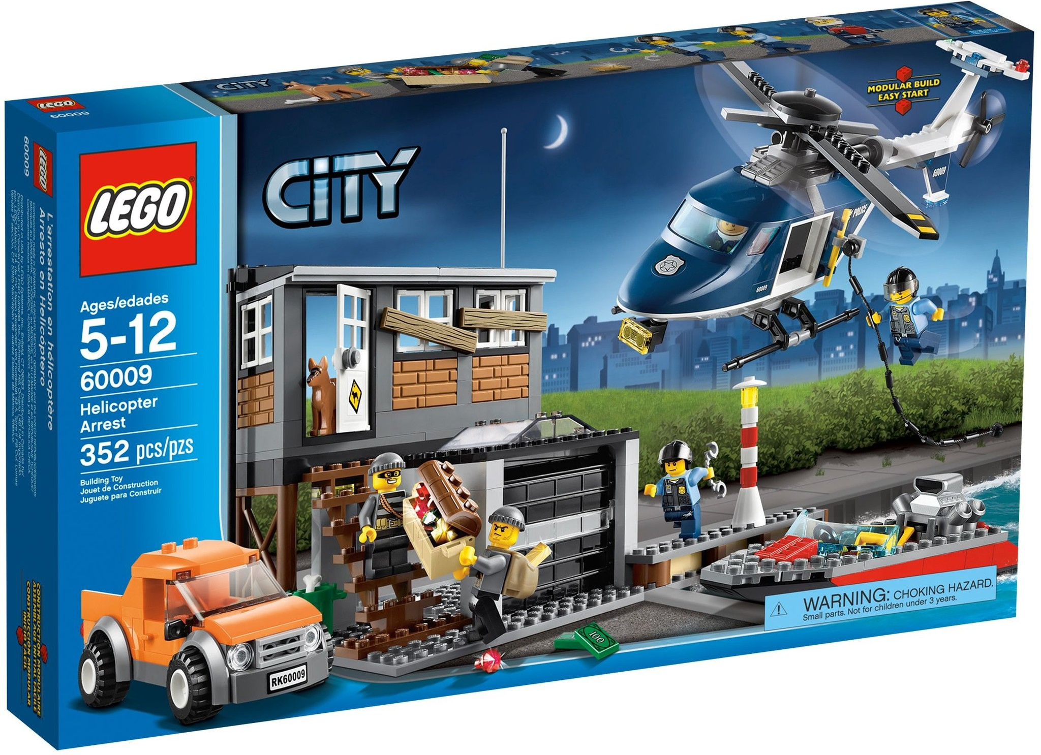 LEGO 60009 - City - Helicopter Arrest