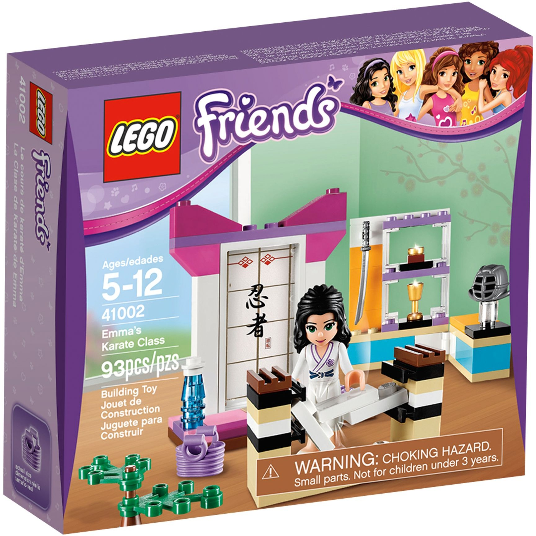 LEGO 41002 - Friends - Emma's Karate Class