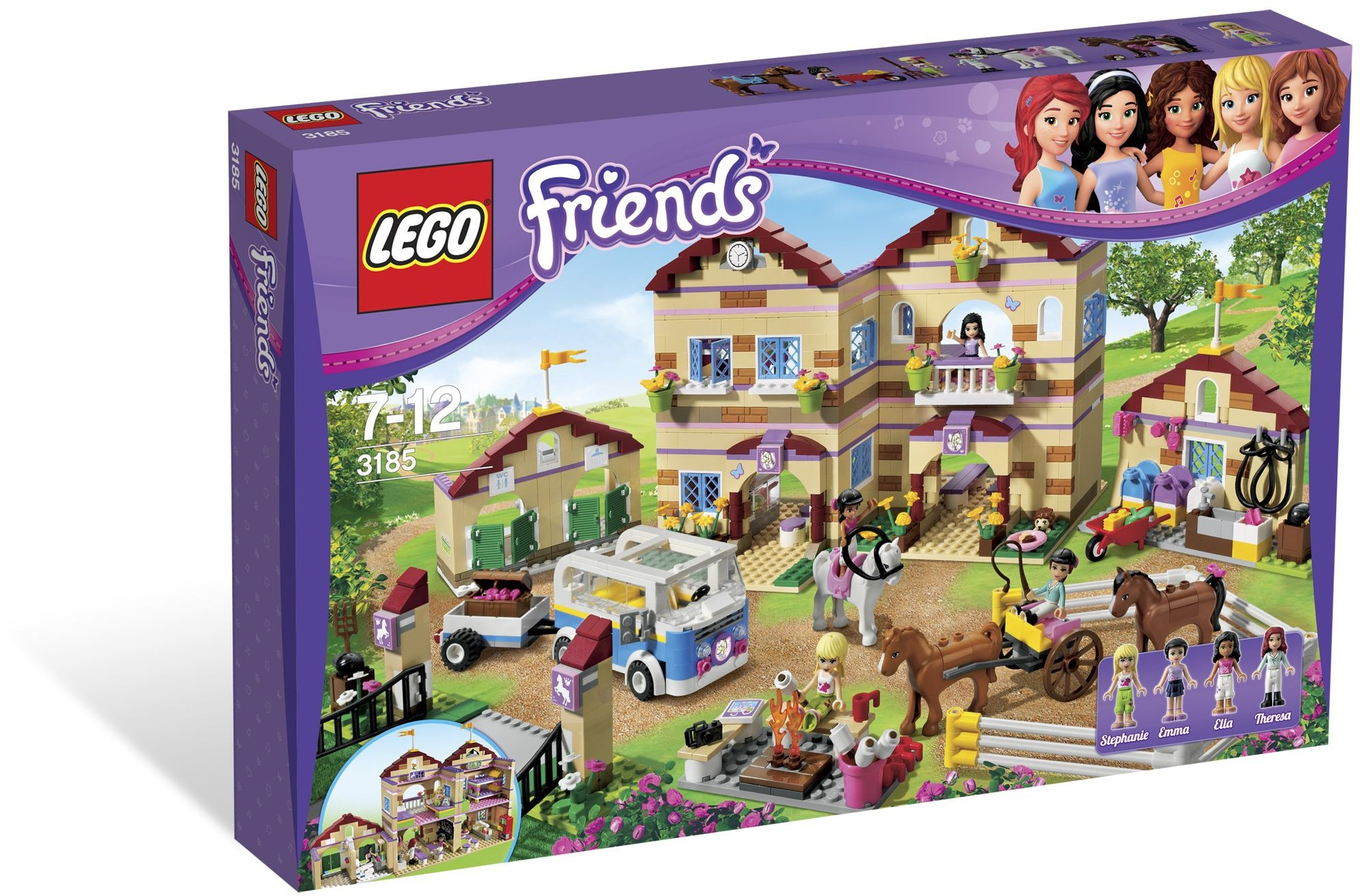 LEGO 3185 - Friends - Summer Riding Camp