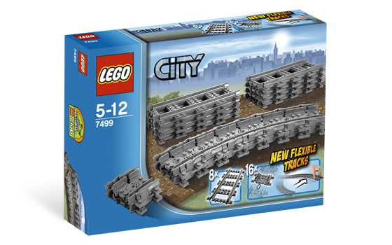 LEGO 7499 - City - Flexible and Straight Tracks