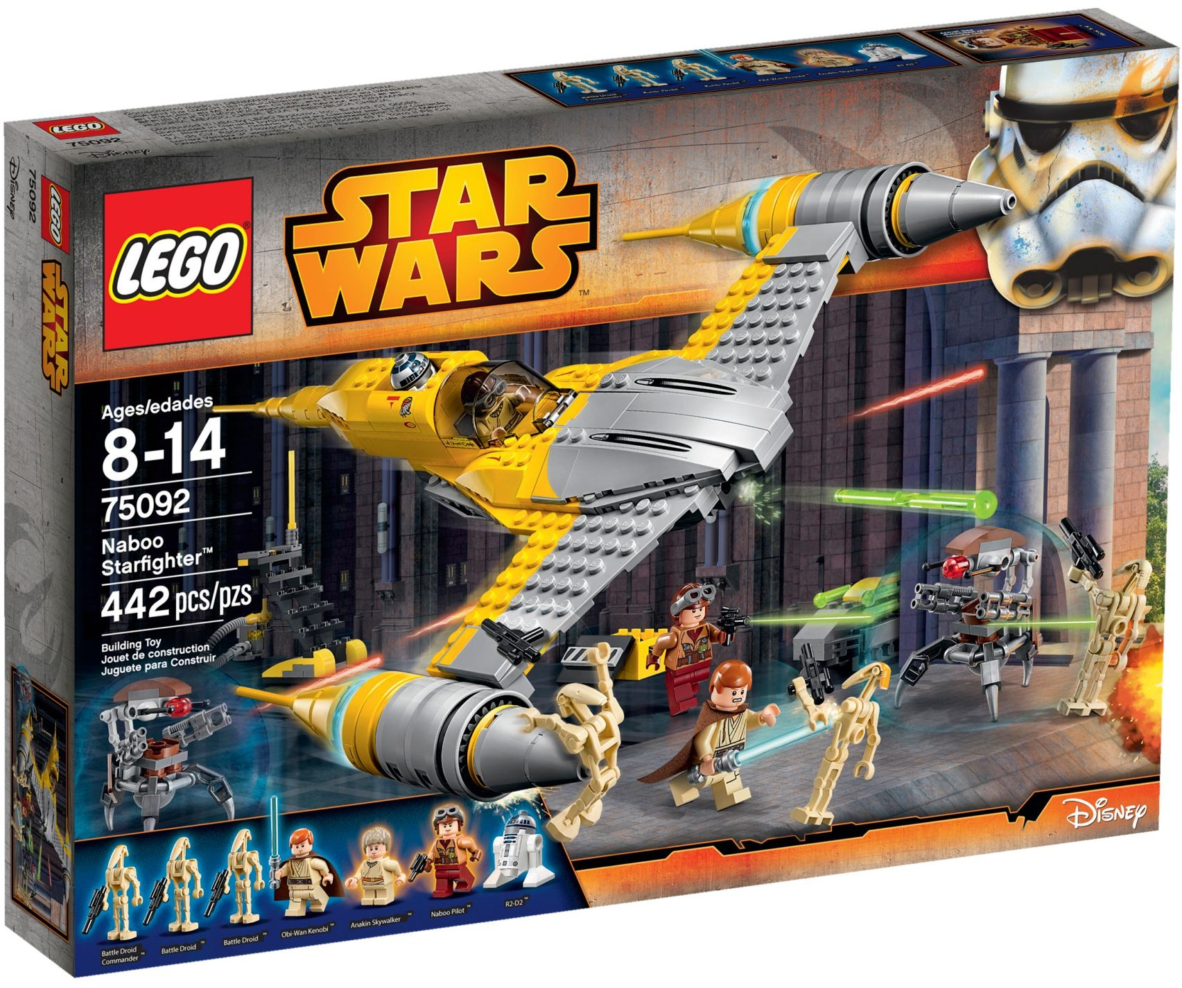 LEGO 75092 - Star Wars - Naboo Starfighter