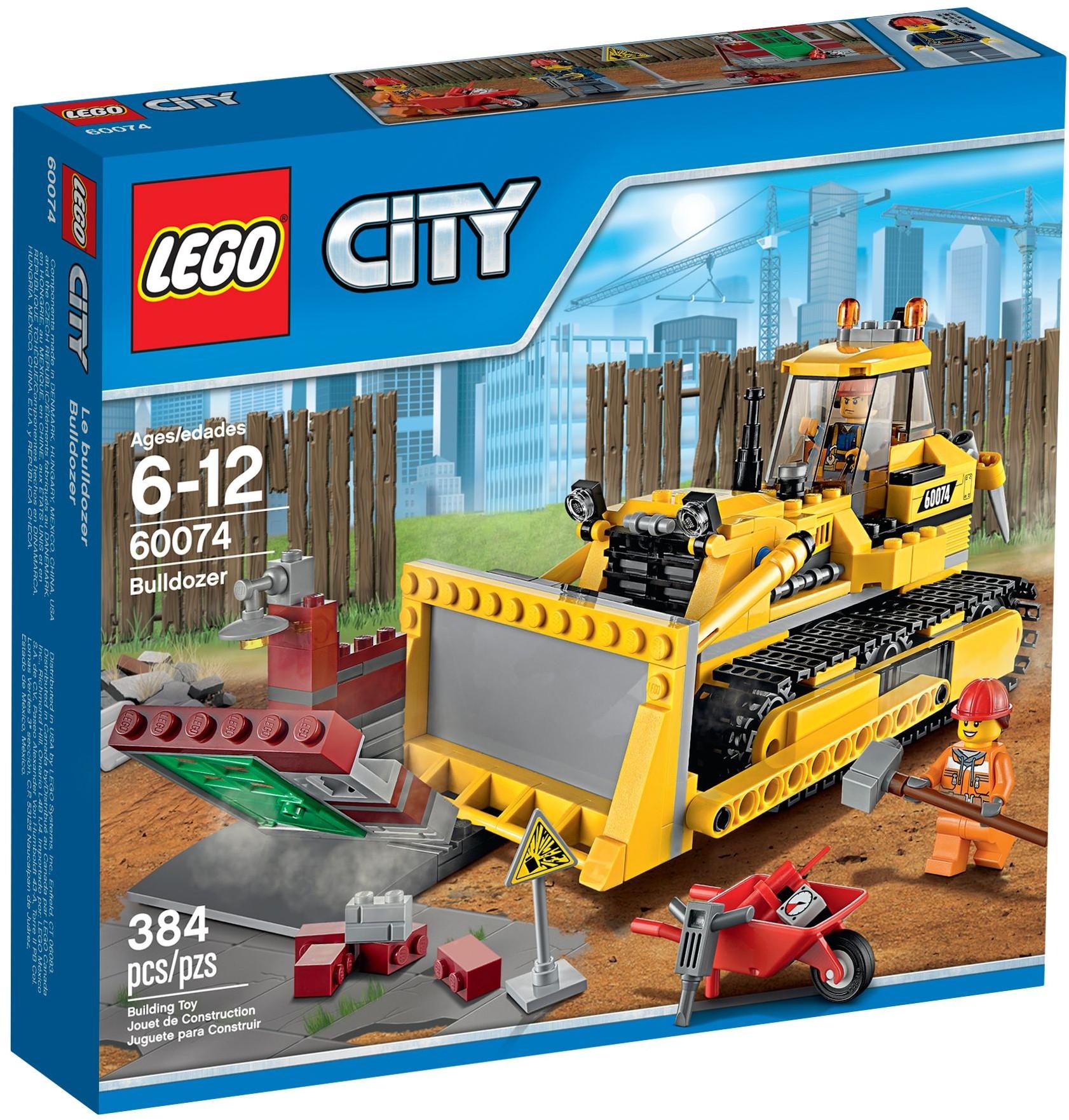 LEGO 60074 - City - Bulldozer