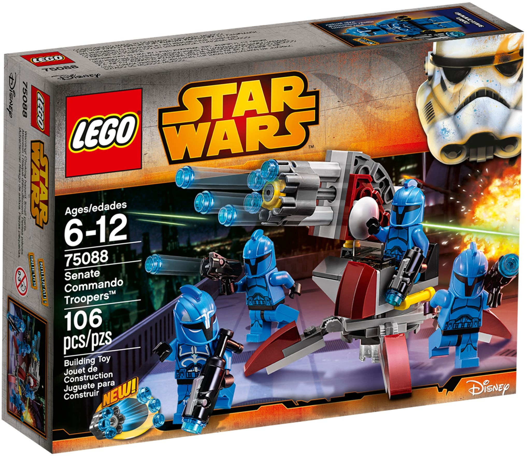 LEGO 75088 - Star Wars - Senate Commando Troopers