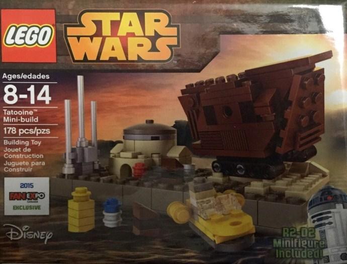 LEGO Star Wars - FANEXPO2015-1: Tatooine Mini Build