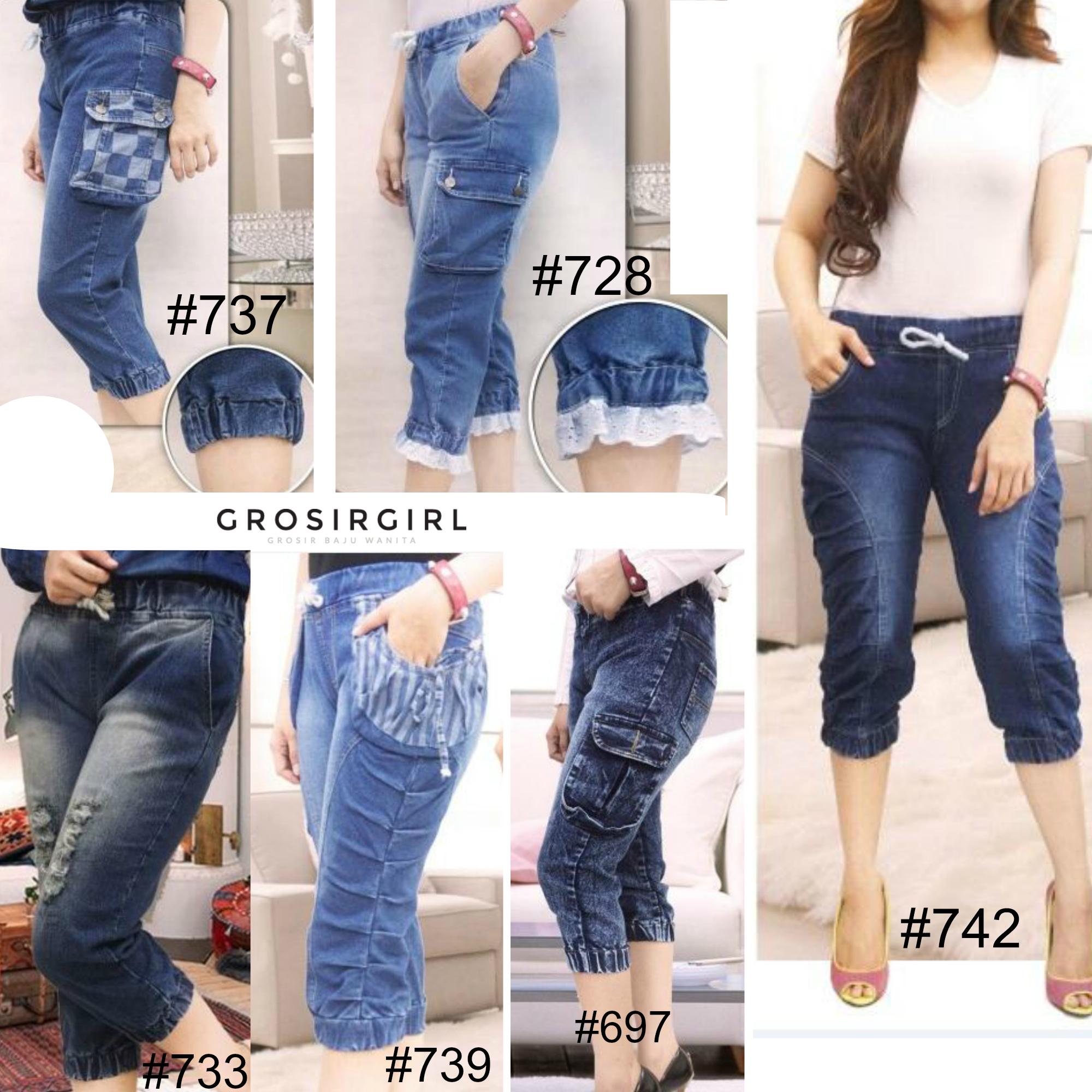Celana Jeans Wanita Terbaru Tanah Abang Jaman Sekarang Model Baju Big Size Jual Jogger 7 8 Uk Standard Jumbo Xl 2xl
