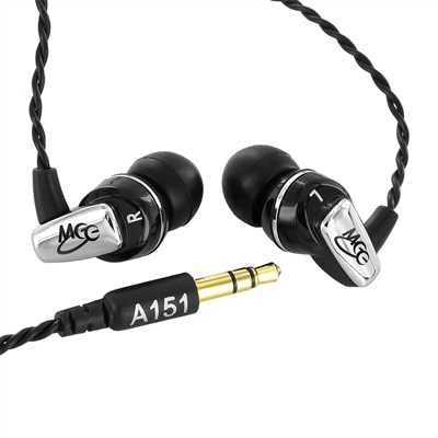 harga MEElectronics Balanced Armature In-Ear Headphone - A151 - Black Tokopedia.com
