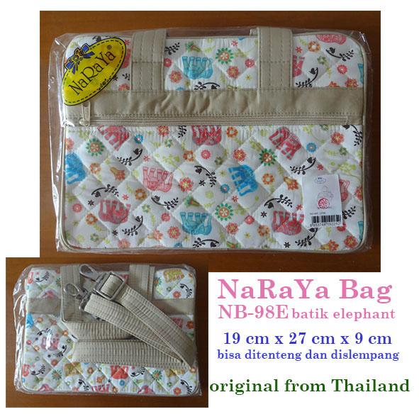harga tas slempang Naraya NB-98E batik elephant Tokopedia.com