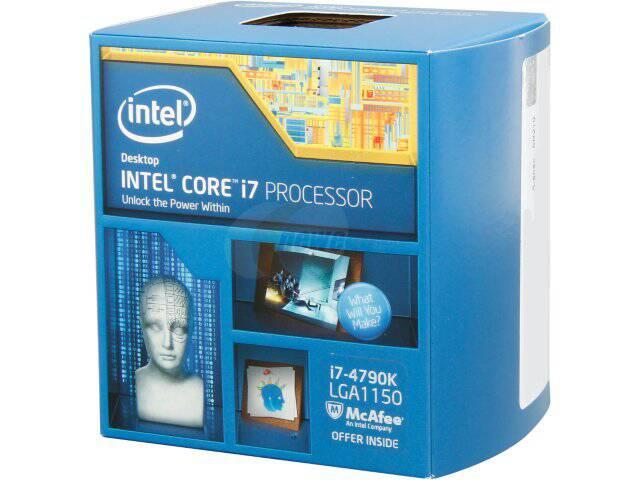 harga processor Intel Core i7-4790K 4.0Ghz - Cache 8MB [Box] Socket LGA 1150 Tokopedia.com