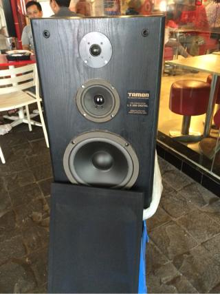 1 pasang speaker pasif 10 inch tamon jepang