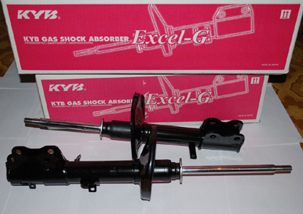 SHOCK BREAKER KAYABA JAPAN EXCEL-G GAS Honda Jazz LAMA GD3 DPN SPSG