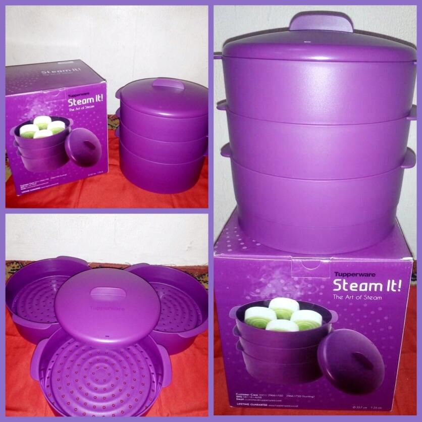 steam it ungu tupperware