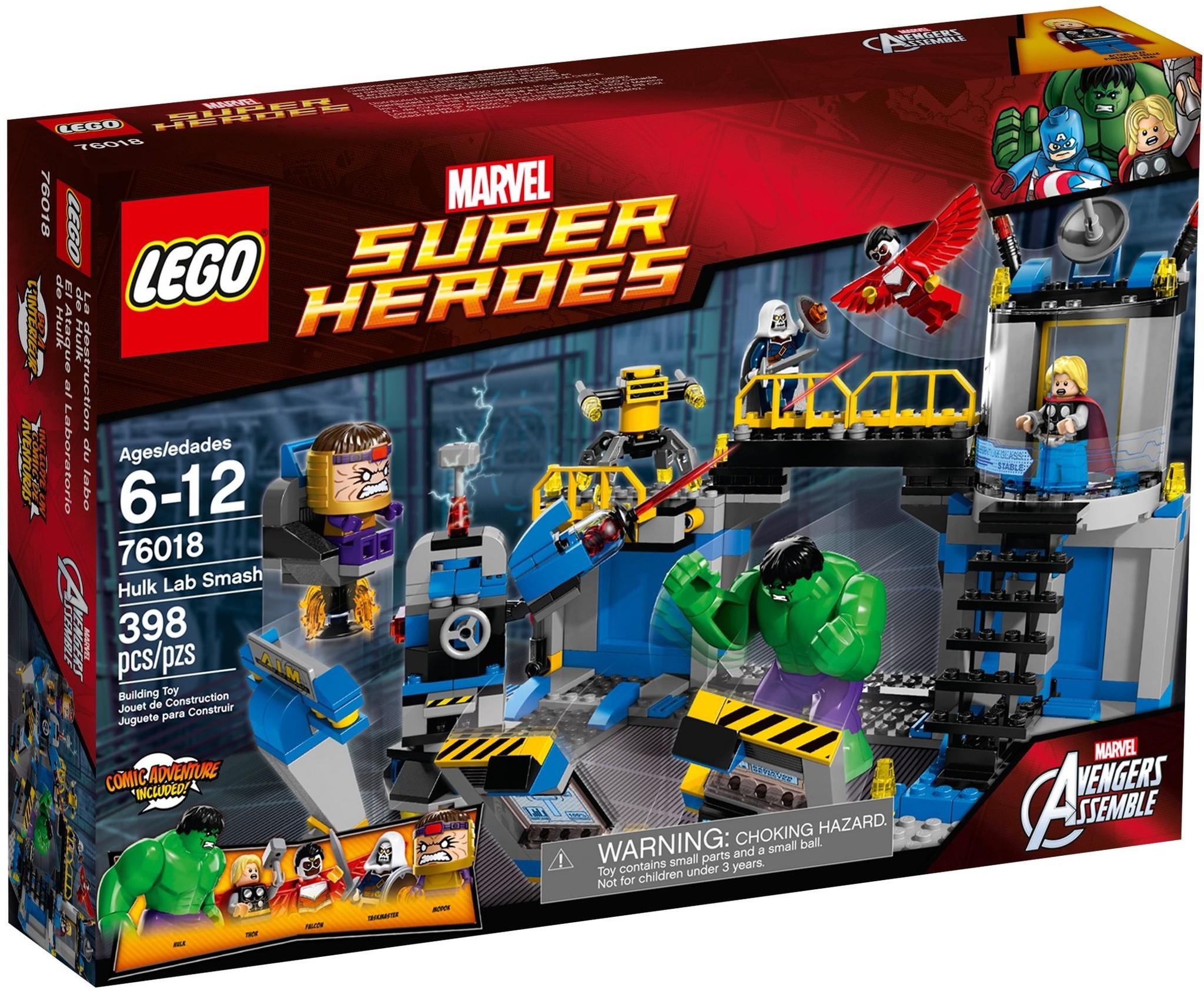 LEGO 76018 - Super Heroes - Avengers: Hulk Lab Smash