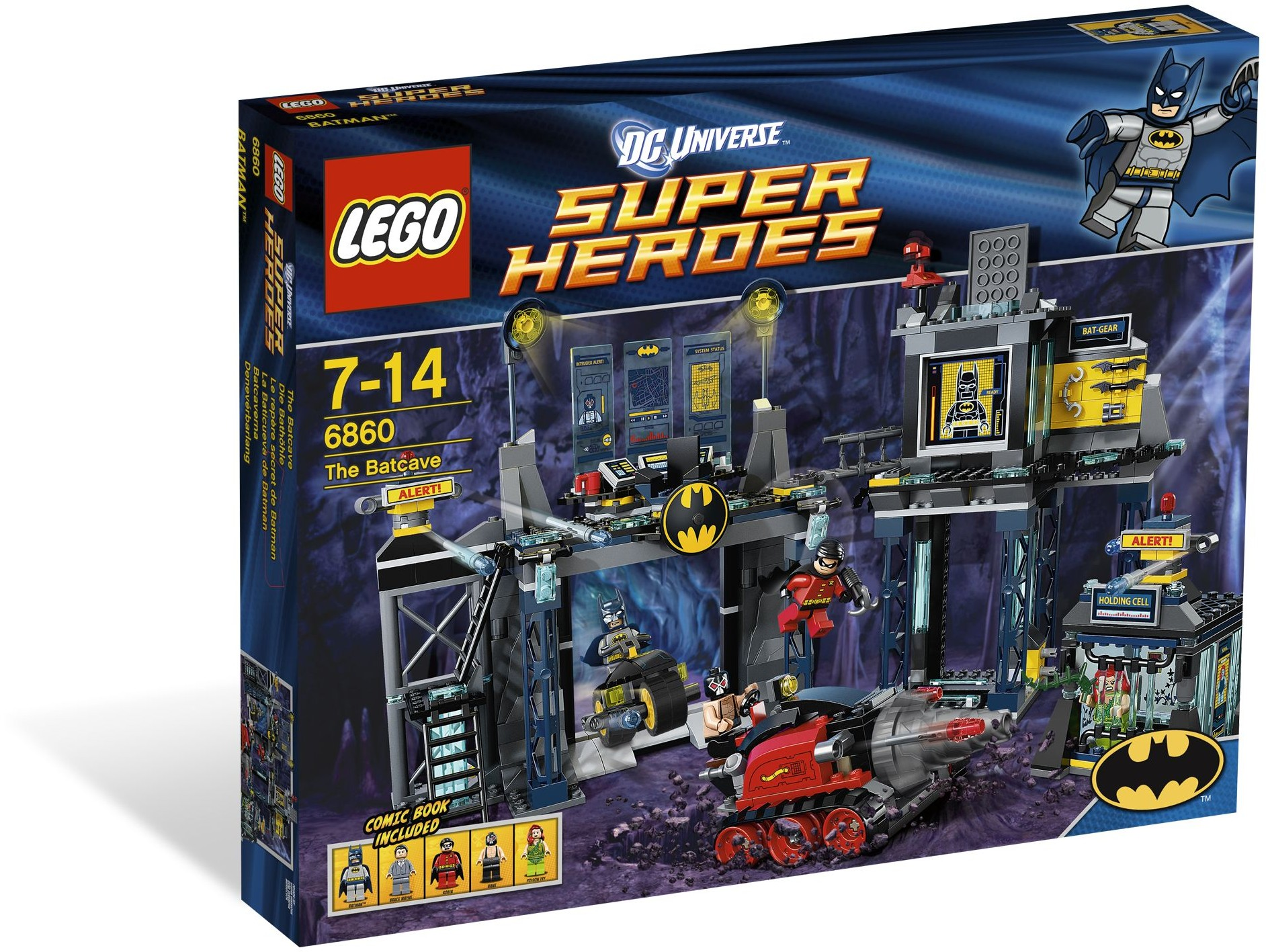 LEGO 6860 - Super Heroes - The Batcave