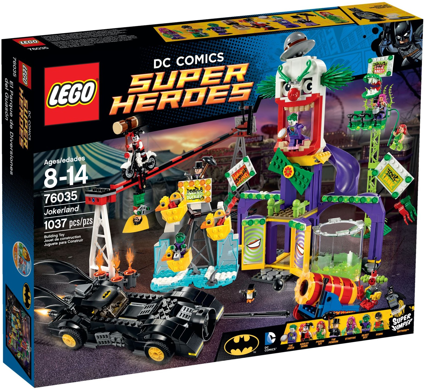 LEGO 76035 - Super Heroes - Jokerland