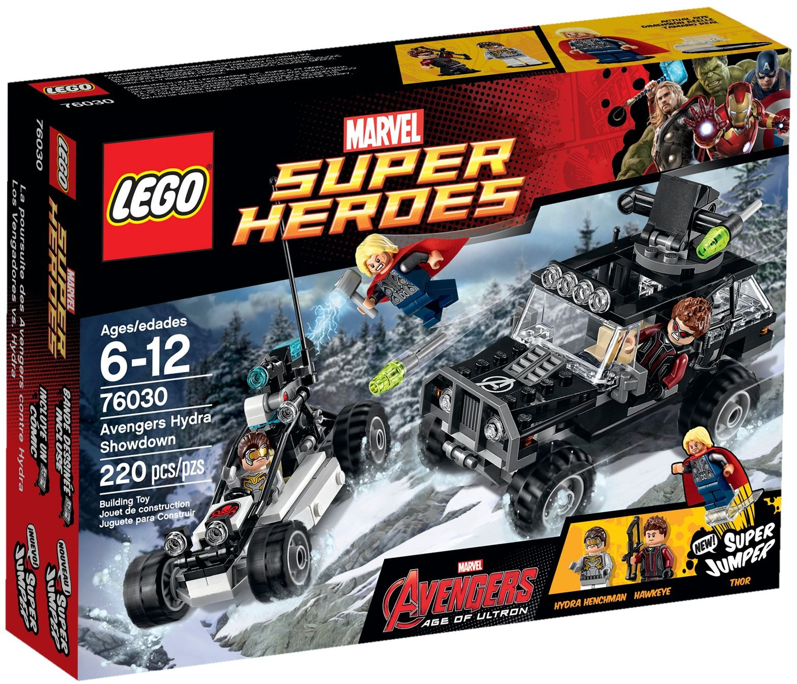 LEGO 76030 - Super Heroes - Avengers Hydra Showdown