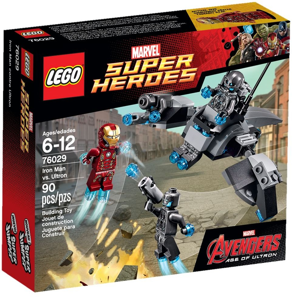 LEGO 76029 - Super Heroes - Iron Man vs. Ultron