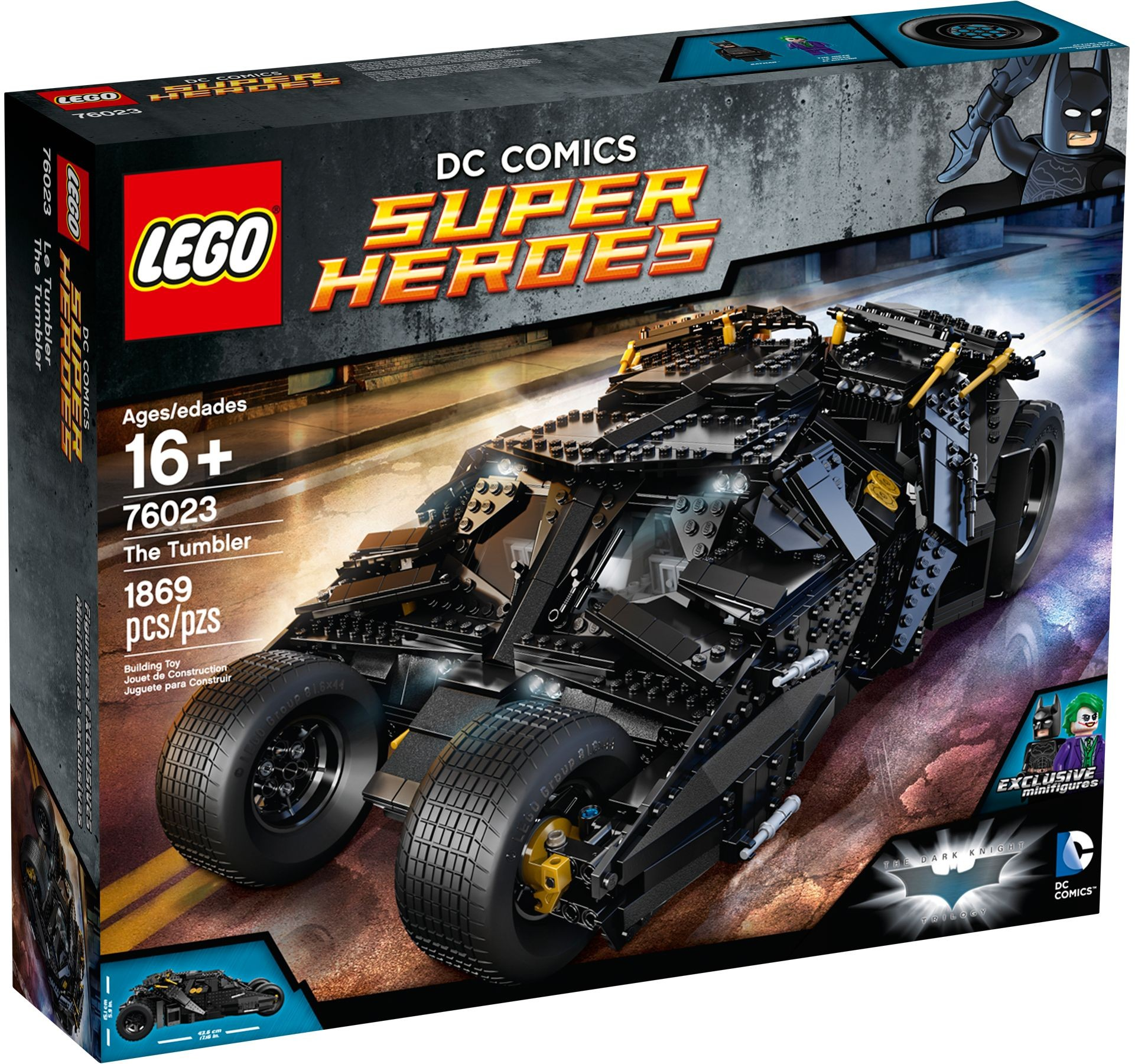 LEGO 76023 - Super Heroes - The Tumbler