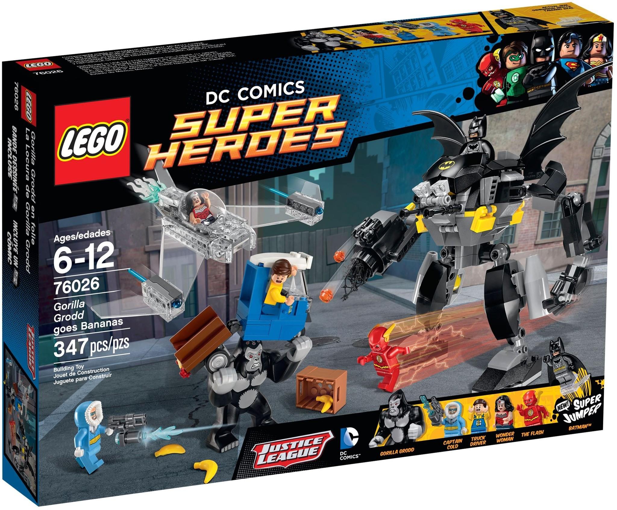 LEGO 76026 - Super Heroes - Gorilla Grodd Goes Bananas