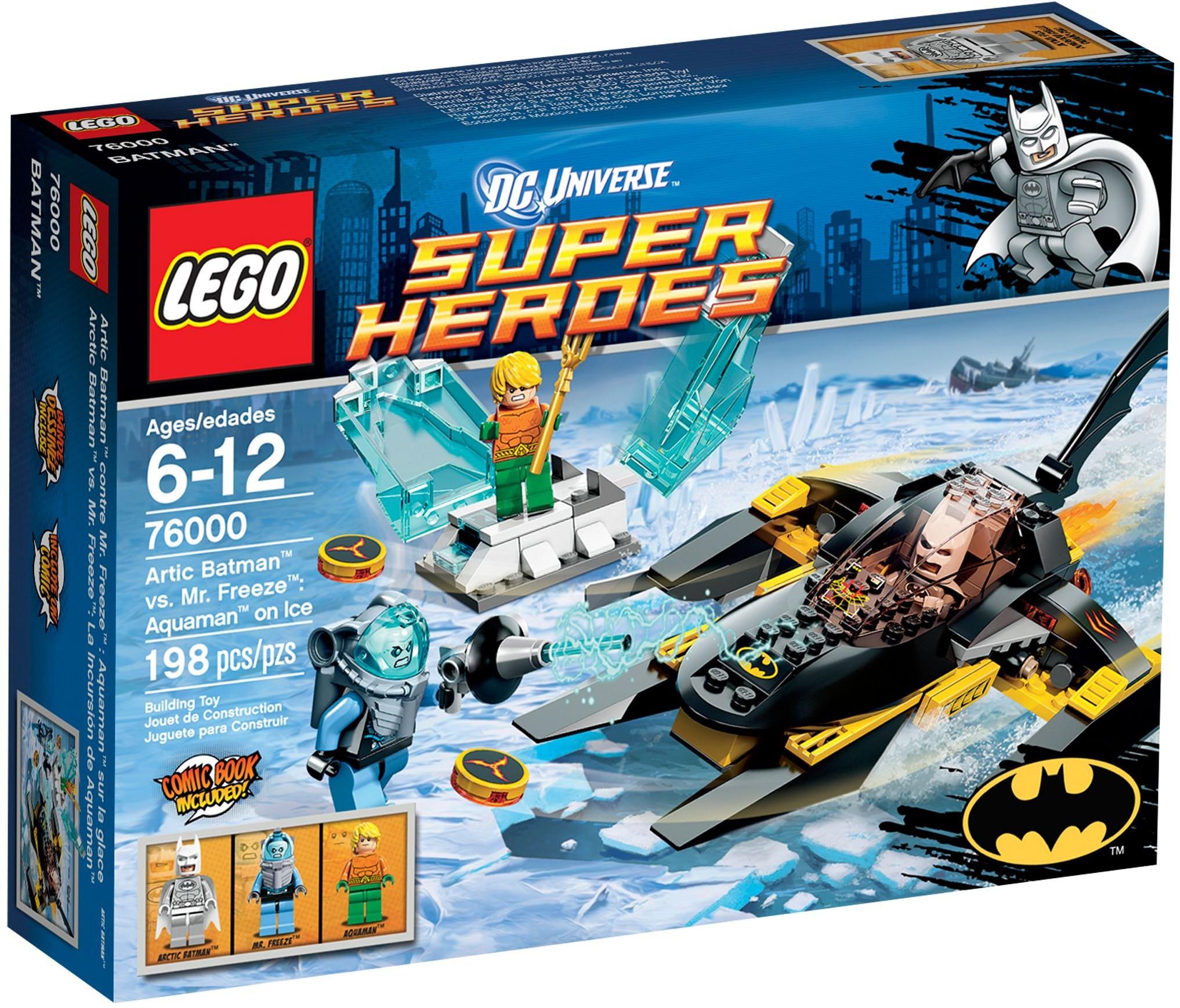LEGO 76000 - Super Heroes - Arctic Batman vs Mr Freeze: Aquaman on Ice