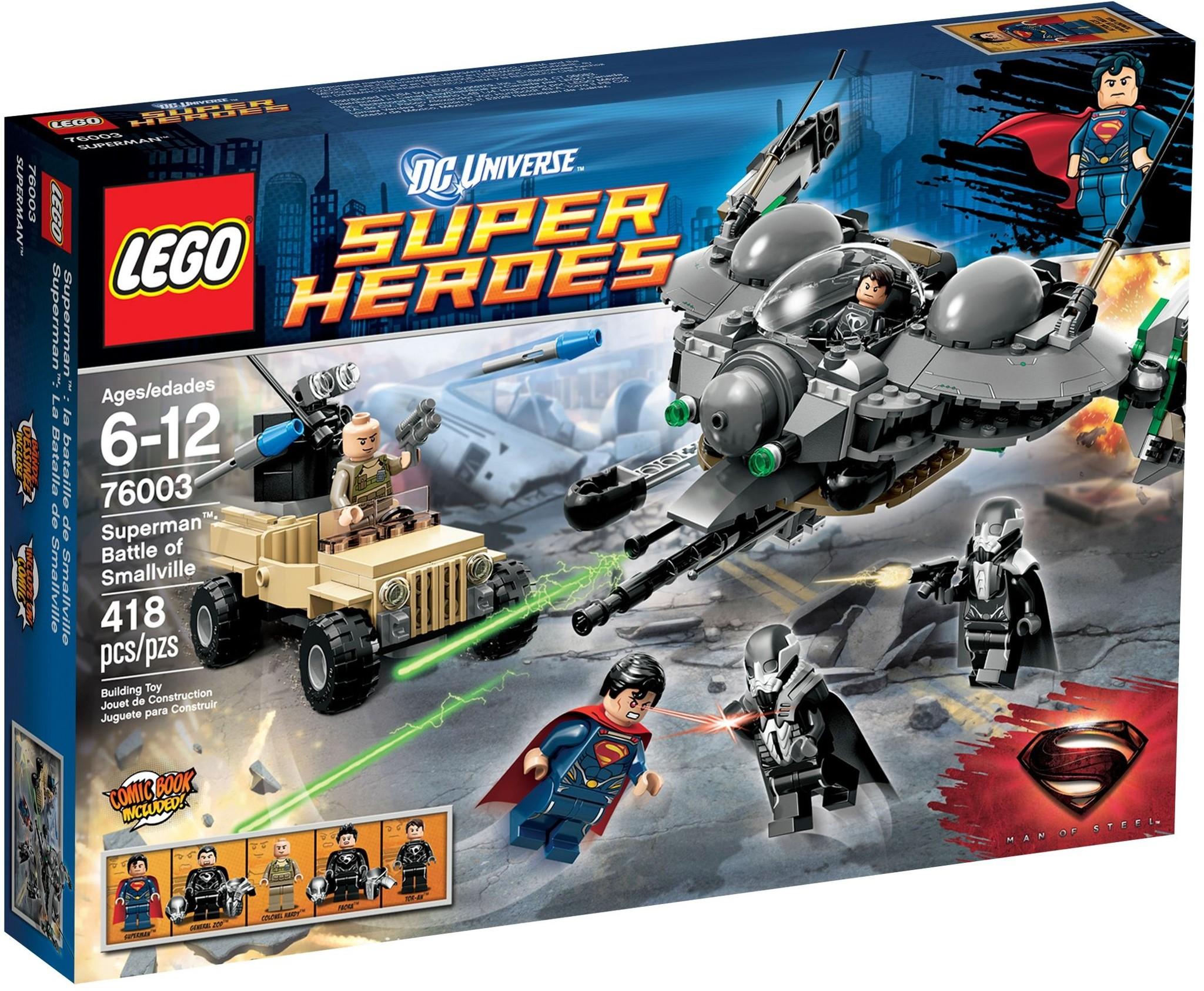LEGO 76003 - Super Heroes - Superman: Battle of Smallville