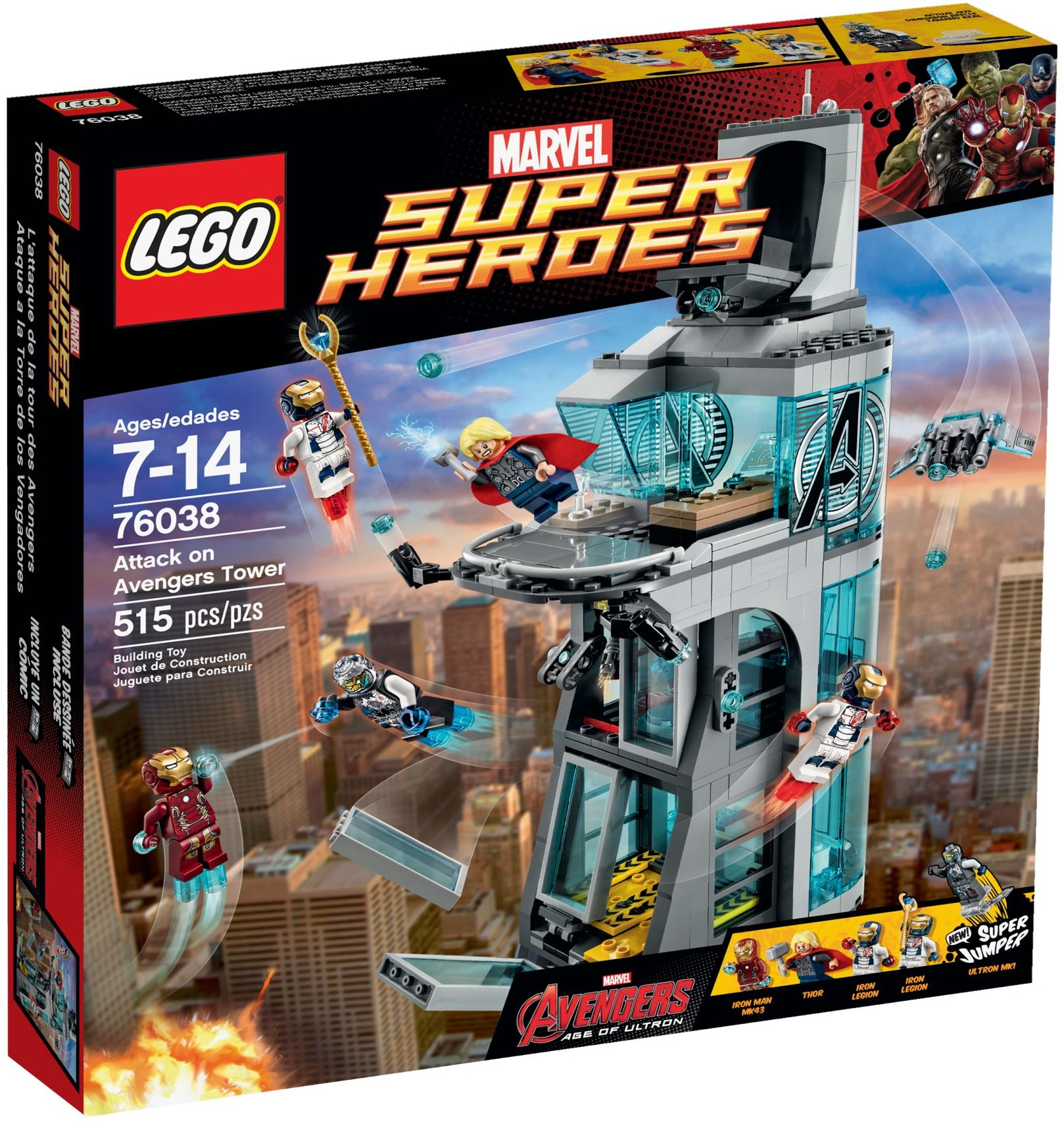 LEGO 76038 - Super Heroes - Attack on Avengers Tower
