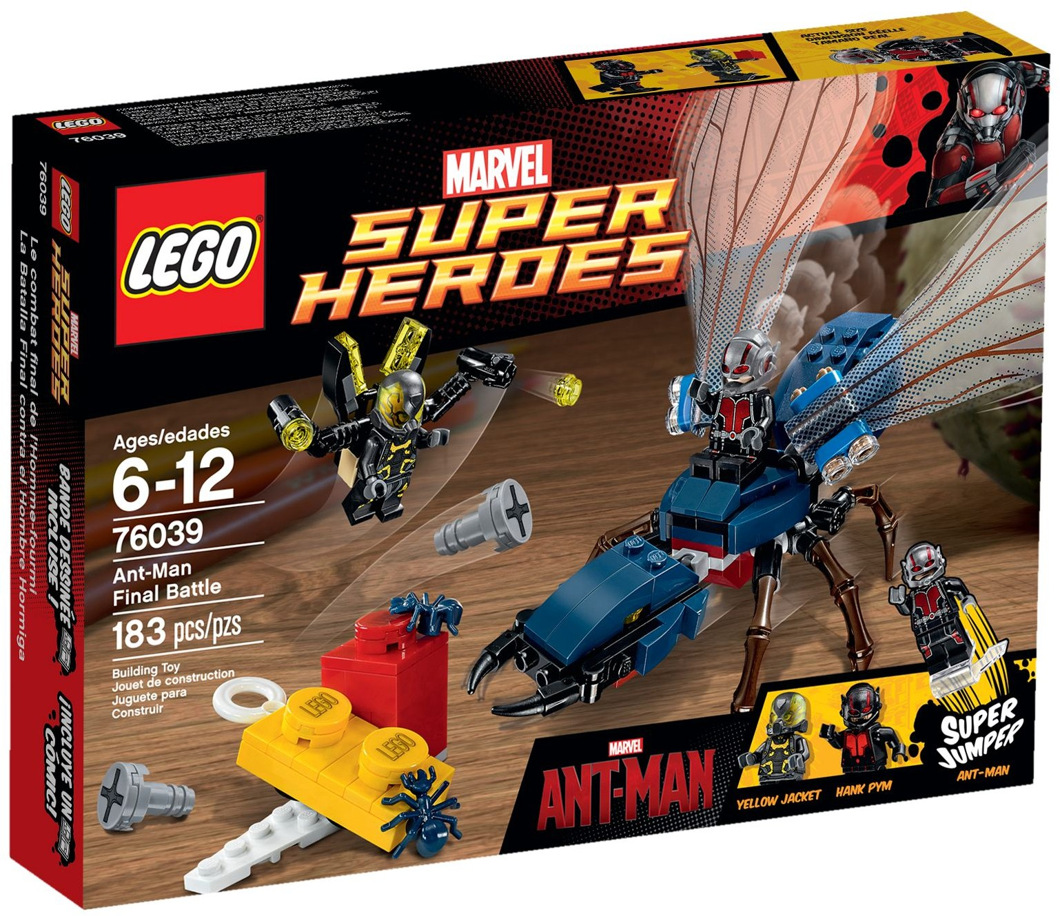 LEGO 76039 - Super Heroes - Ant-Man Final Battle