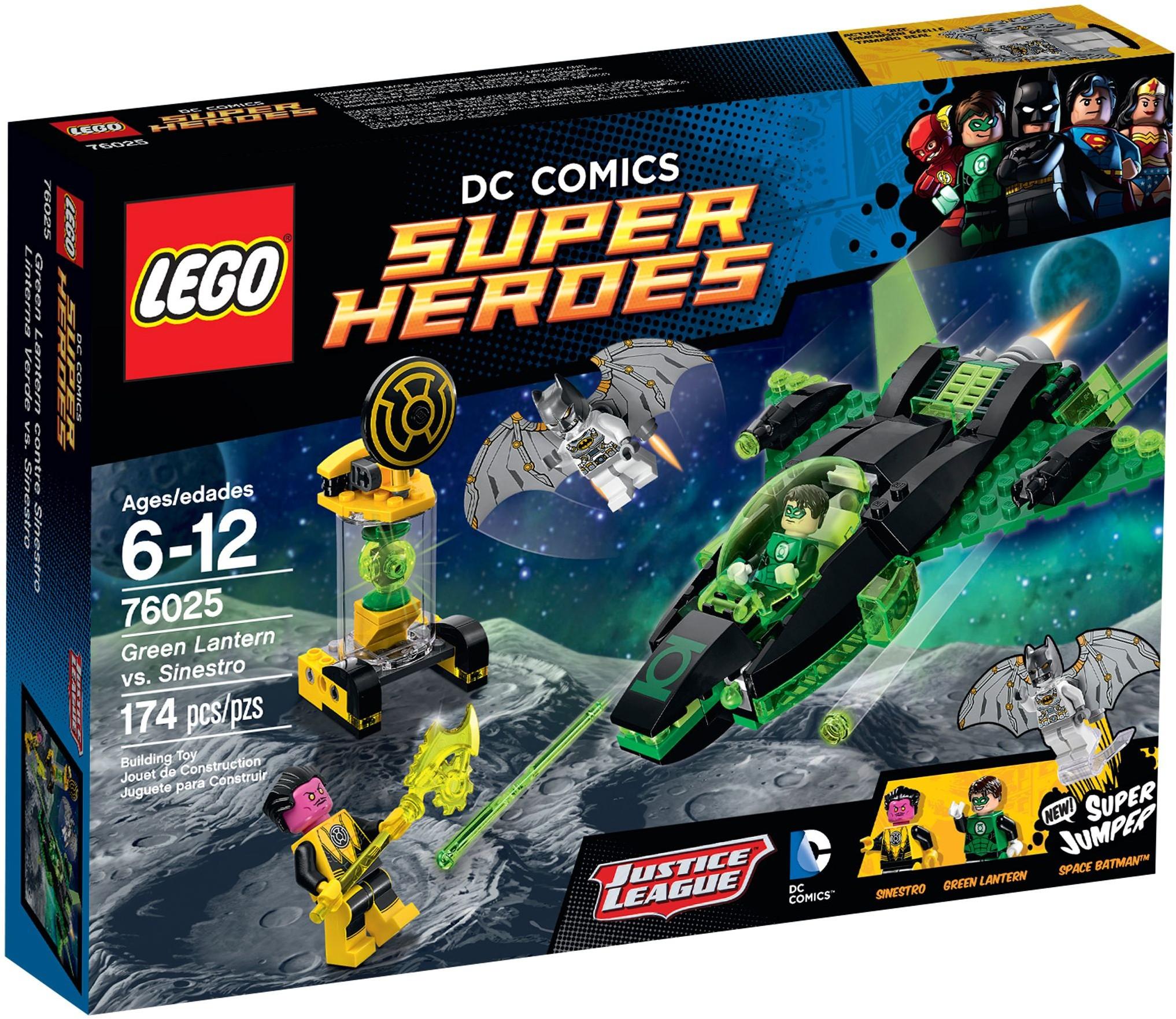 LEGO 76025 - Super Heroes - Green Lantern vs. Sinestro