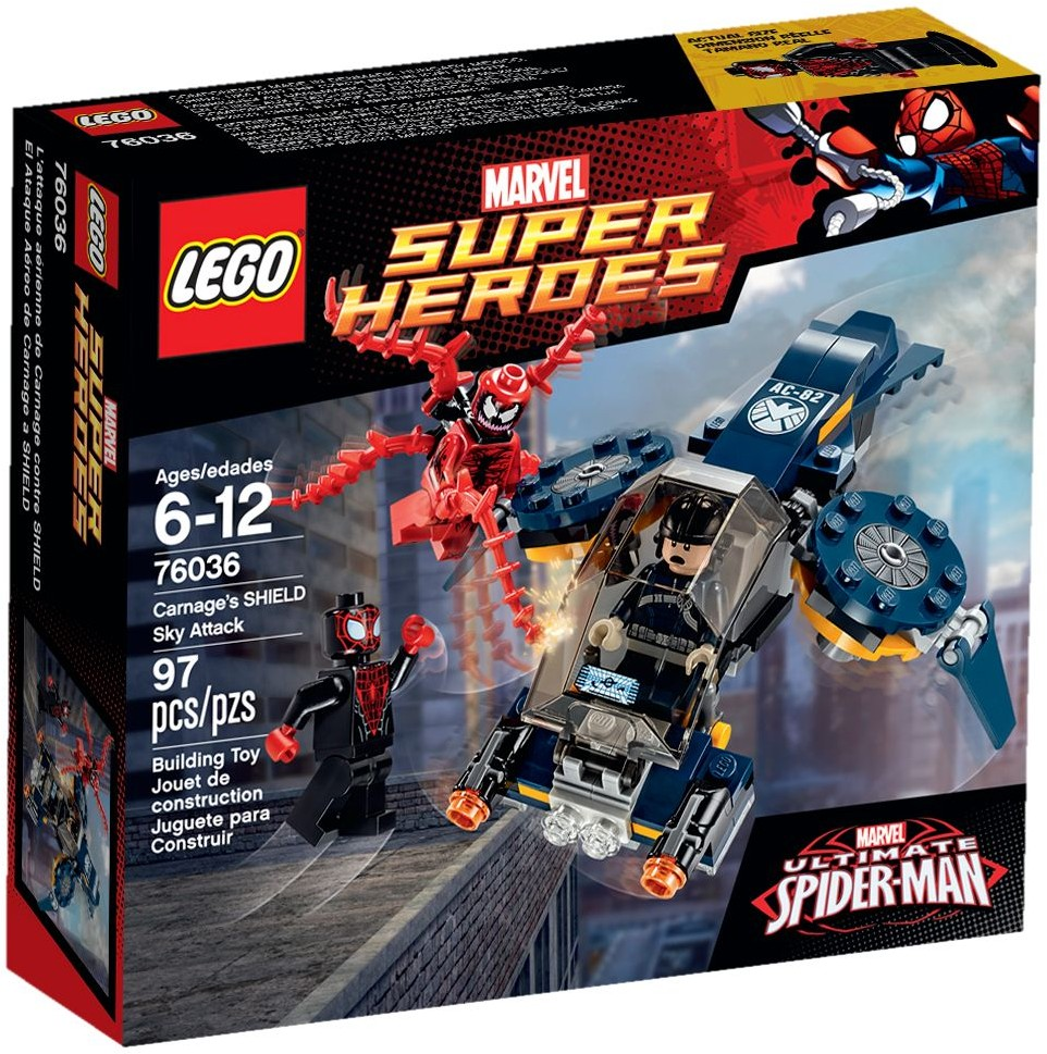 LEGO 76036 - Super Heroes - Carnage's Shield Sky Attack