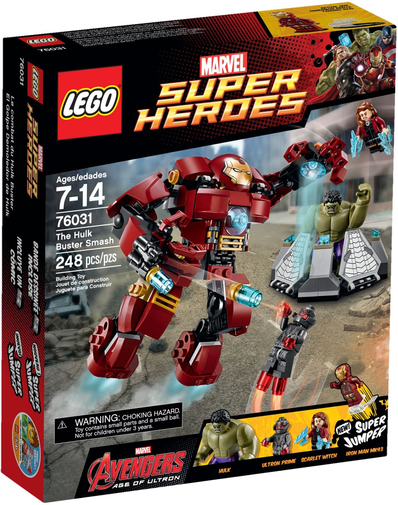 LEGO 76031 - Super Heroes - The Hulk Buster Smash